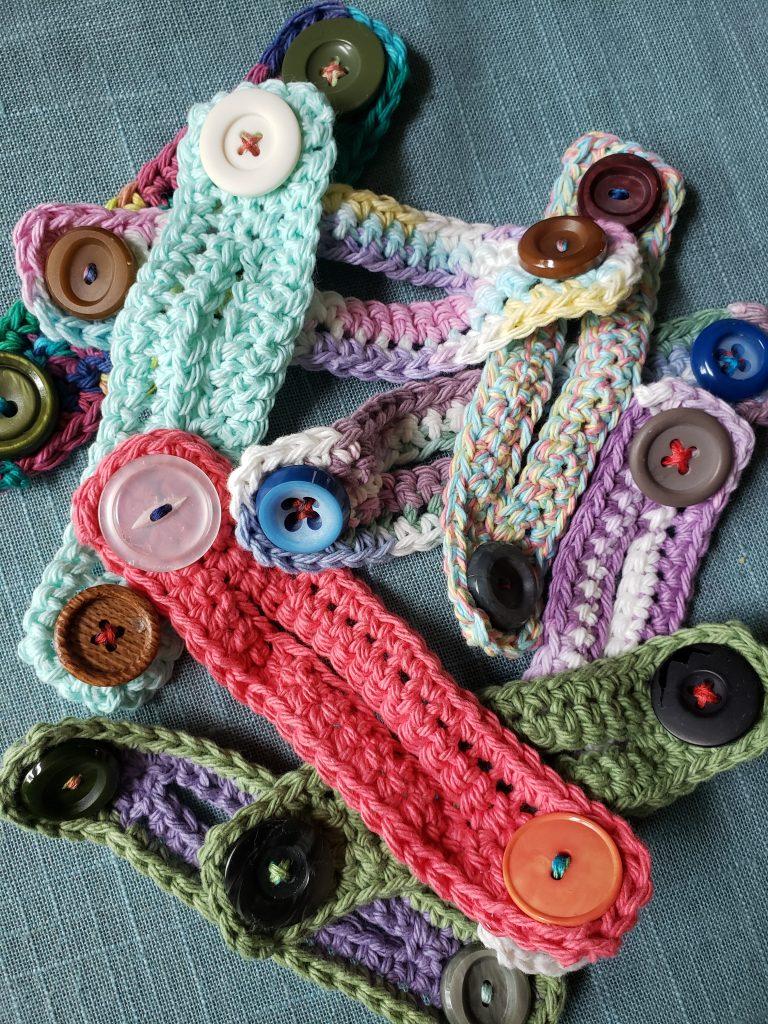 Free Crochet Pattern: Ponytail Ear Saver for Masks