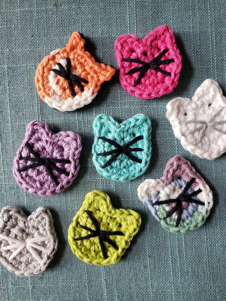 Crochet Pattern: Pocket Worry Cats