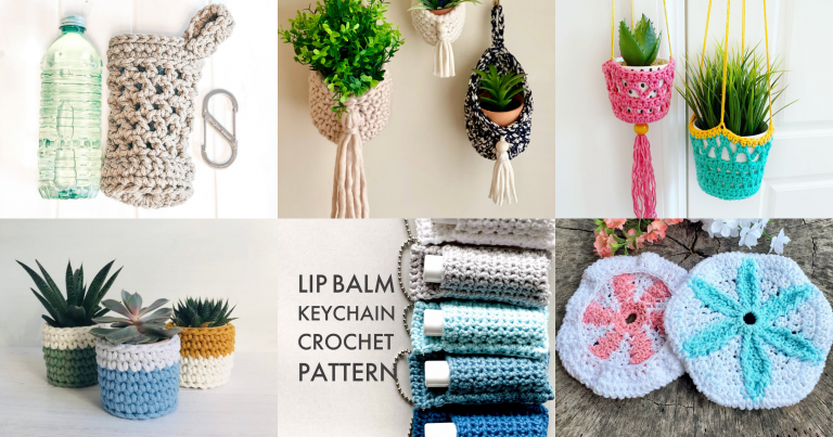 Crochet Pattern Roundup: Simple Summer Projects!